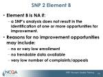 snp 2 element b1