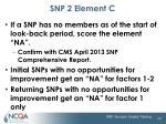 snp 2 element c3