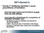 snp 4 element a1