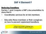 snp 4 element f