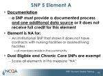 snp 5 element a3
