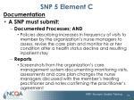 snp 5 element c2