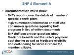 snp 6 element a2