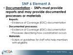 snp 6 element a3