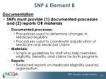 snp 6 element b2