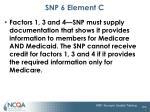 snp 6 element c1