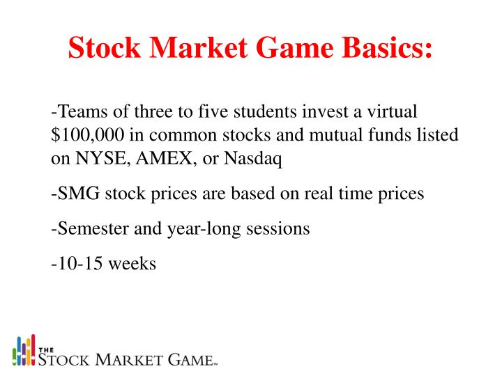 Stock Market Game Basics: