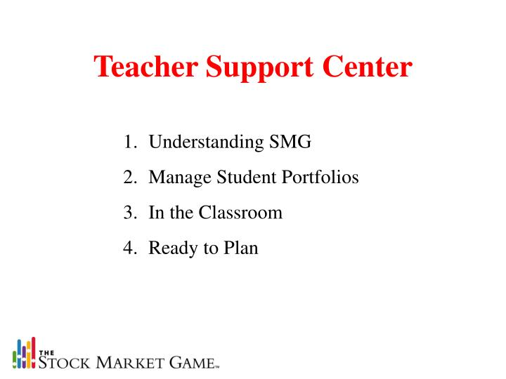 Teacher Support Center
