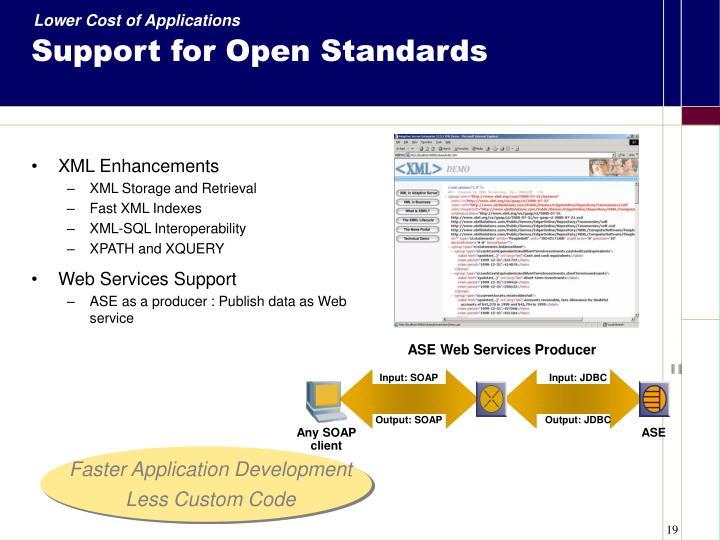 XML Enhancements
