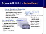 sybase ase 12 5 1 design focus1