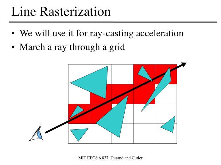 Line Rasterization