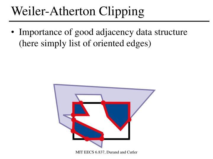 Weiler-Atherton Clipping