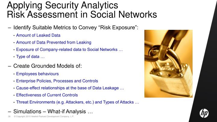 Applying Security Analytics