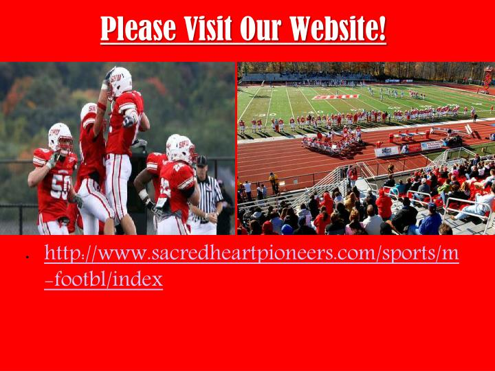 Please Visit Our Website!