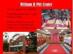 william h pitt center