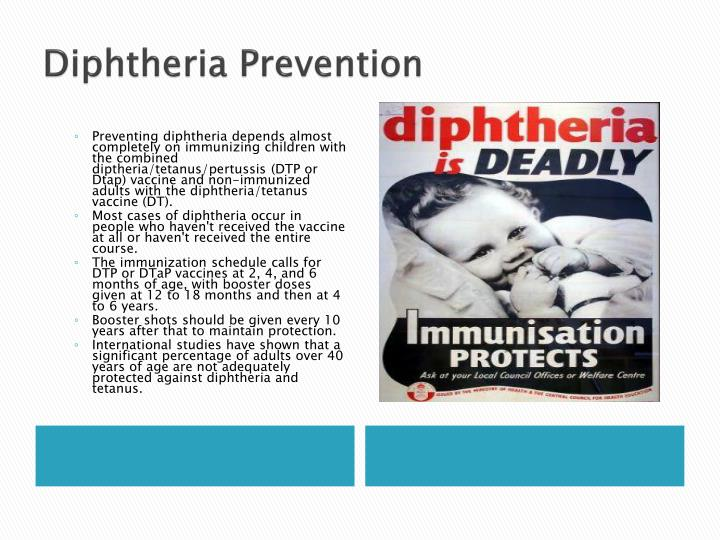 Diphtheria Prevention