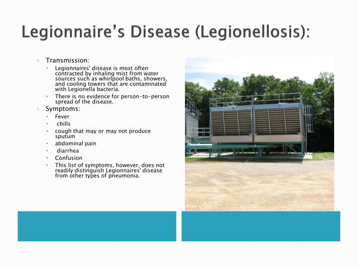Legionnaire's Disease (