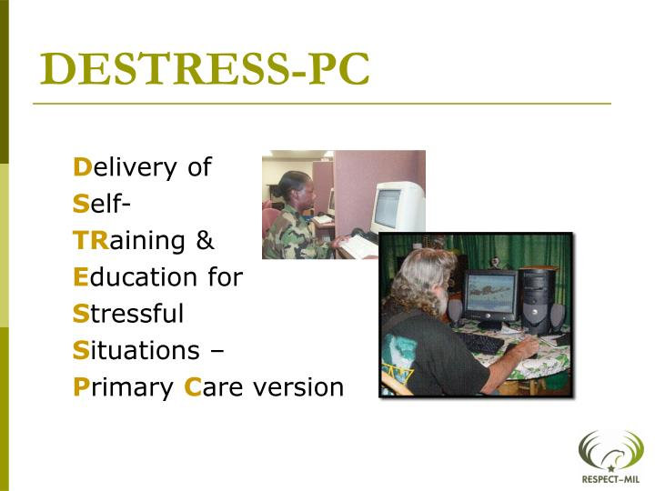 DESTRESS-PC