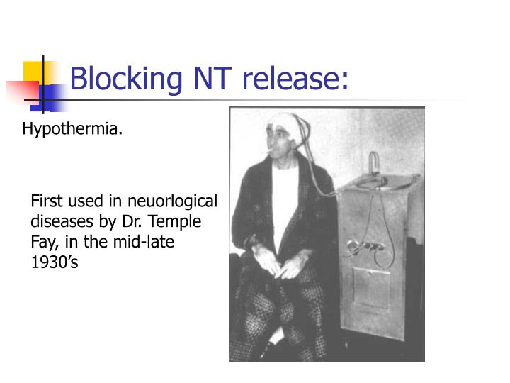 Blocking NT release:
