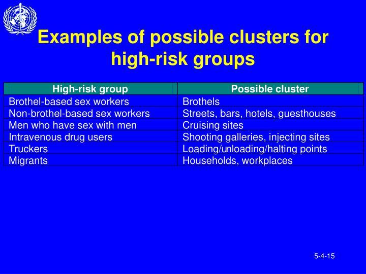 High-risk group