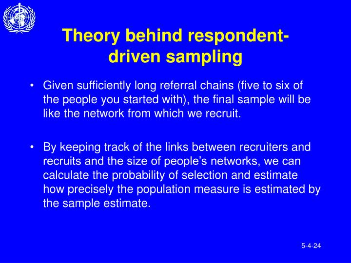 Theory behind respondent-