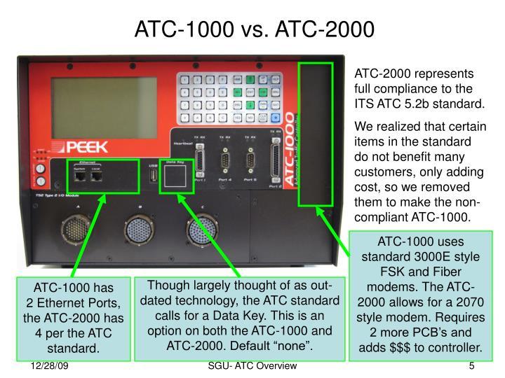 ATC-1000 vs. ATC-2000