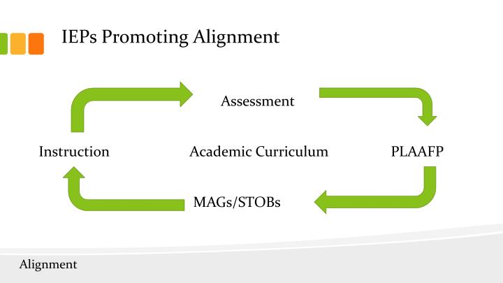 IEPs Promoting Alignment