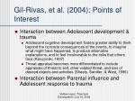 gil rivas et al 2004 points of interest