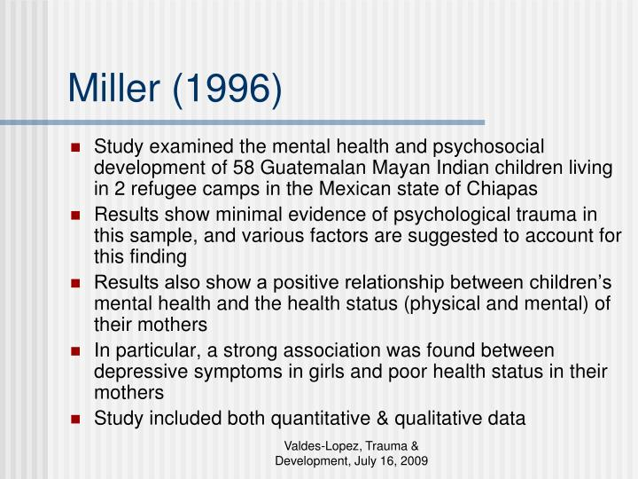 Miller (1996)