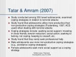 tatar amram 2007