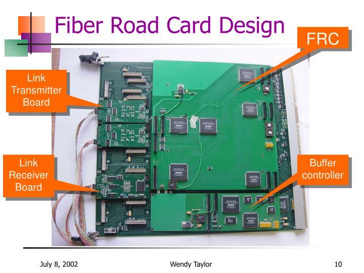 Fiber Road Card Design
