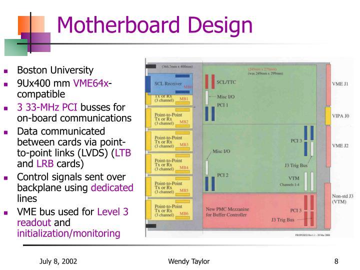 Motherboard Design