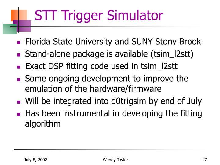 STT Trigger Simulator