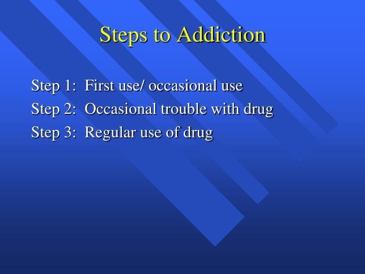 Steps to Addiction