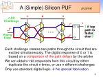 a simple silicon puf vlsi 04