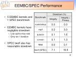 eembc spec performance