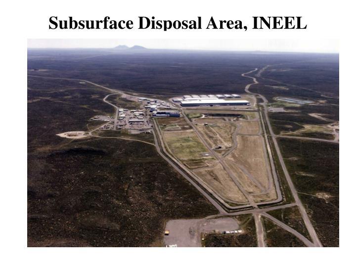 Subsurface Disposal Area, INEEL