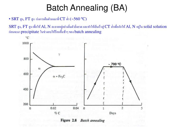 Batch Annealing (BA)