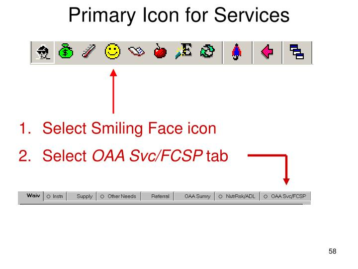 Primary Icon for Services