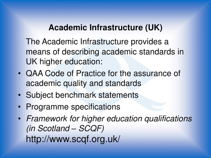 Academic Infrastructure (UK)