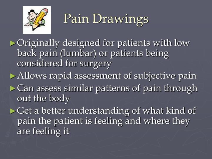 Pain Drawings