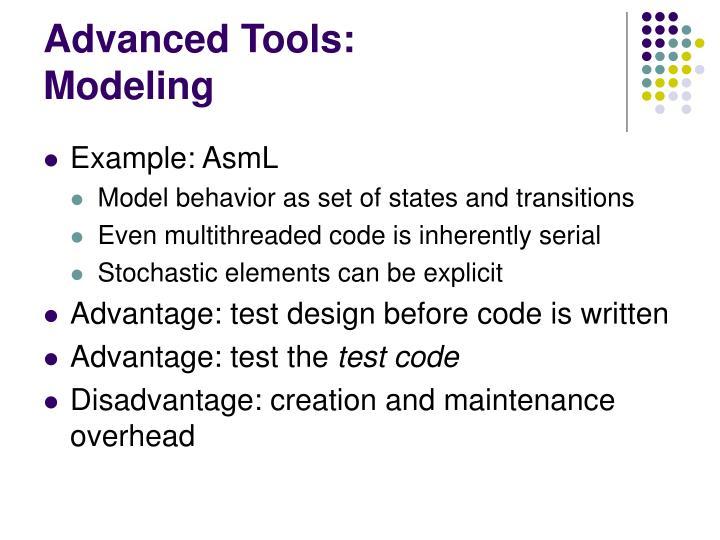 Advanced Tools:
