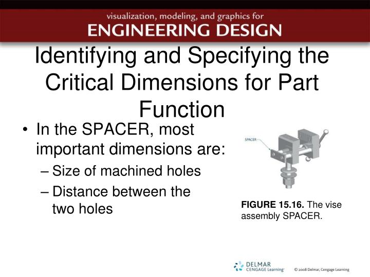 Identifying and Specifying the Critical Dimensions for Part Function