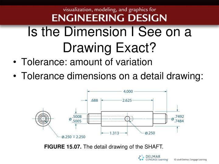 Is the Dimension I See on a Drawing Exact?
