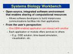 systems biology workbench