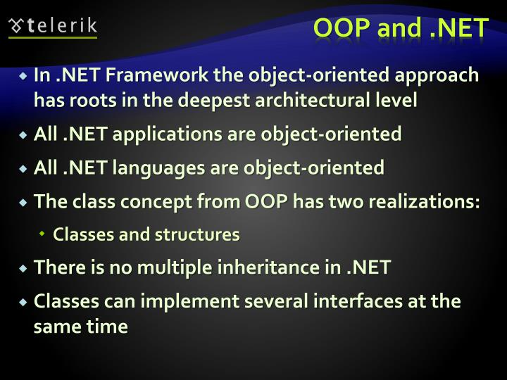 Oop and net