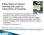 a new vision of science learning that leads to a new vision of teaching