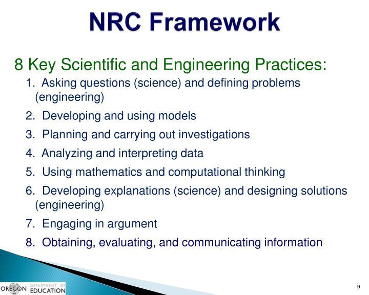 NRC Framework
