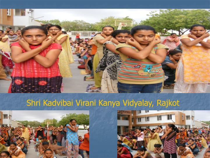 Shri Kadvibai Virani Kanya Vidyalay, Rajkot