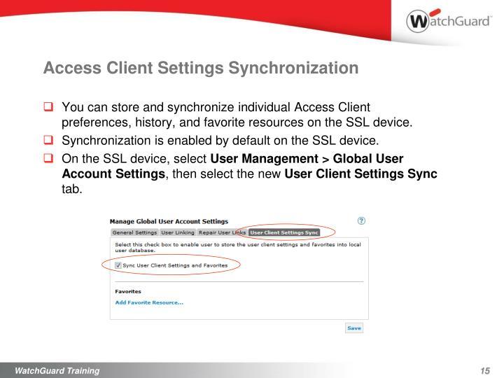 Access Client